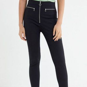 Urban Outfitters | High Waisted Zip-Front Pants